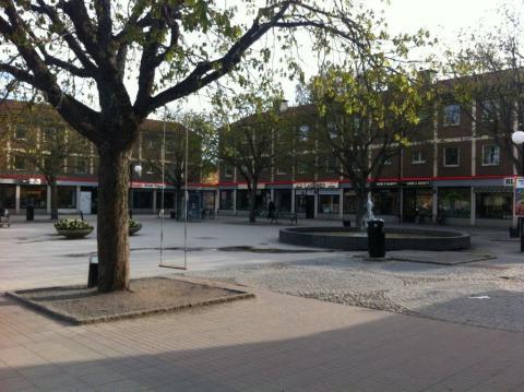 Hur kan torget vid Kärrtorps centrum bli ett drömtorg?