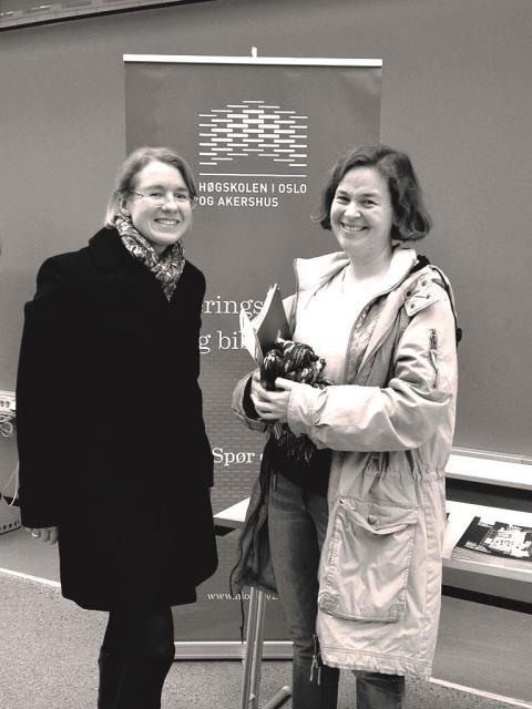 Sara Wheatley og psykologspesialist Ida Fabritius Thorsrud