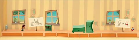 Miljö från dataspelet Equalize, bild 3