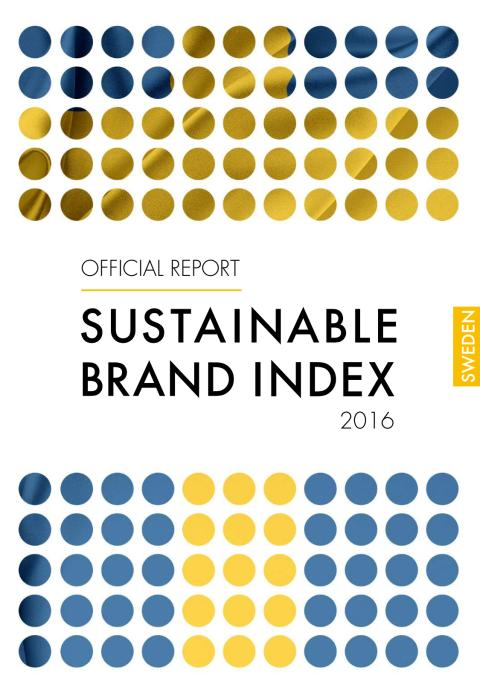 Sustainable Brand Index 2016 - Official Report Sweden
