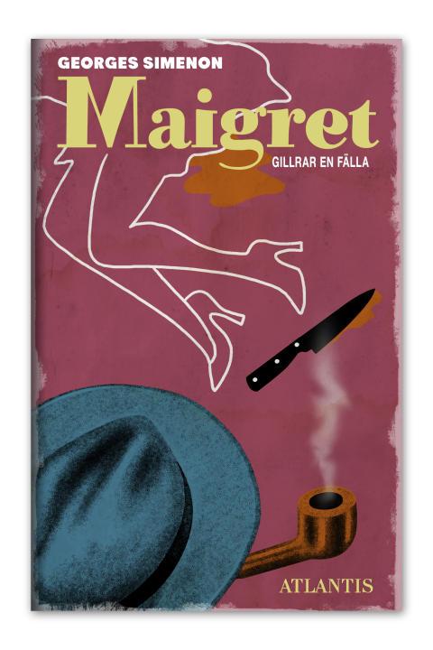 Maigret gillrar en fälla av Georges Simenon