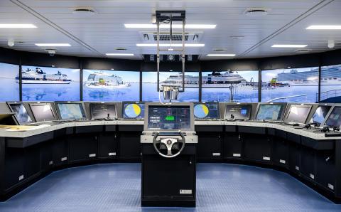 High res image - Kongsberg Digital - Simulation view