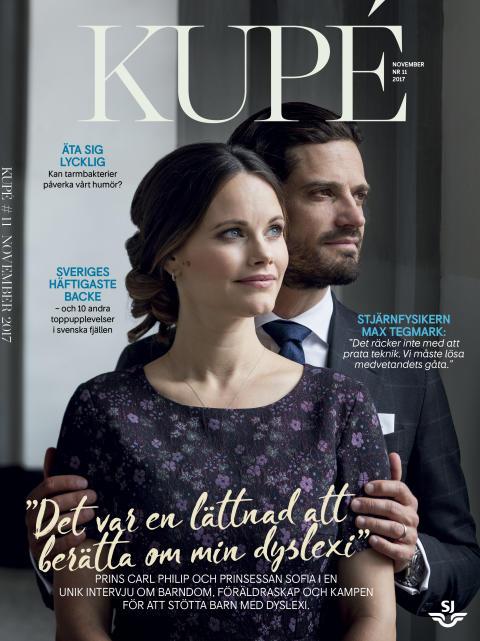 """Exklusiv intervju med prinsparet i nya Kupé: """"Den dåliga självkänslan finns i viss mån fortfarande kvar"""""""