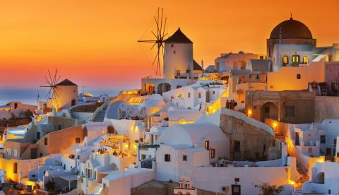 Reseguide: Santorini – romantikens ö