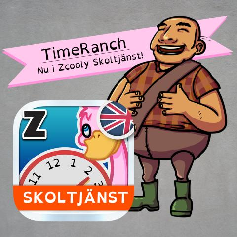 TimeRanch nu i Zcooly Skoltjänst