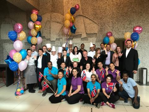 Quality Hotel 33 feirer 10 år på Økern med ukes-lang feiring!