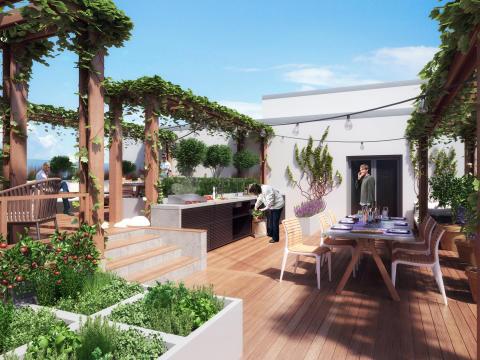 Sjödalsterrassen terrass kök