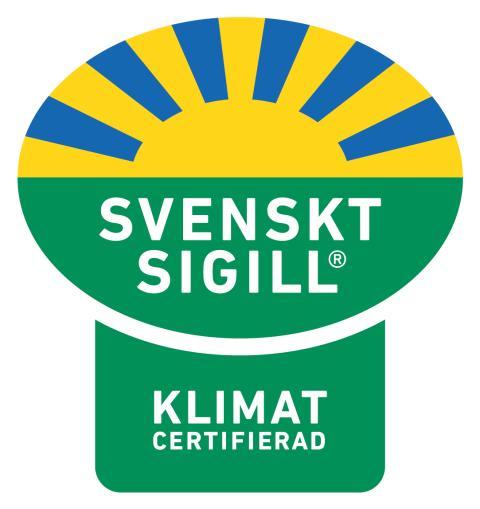 Svenskt Sigill Klimatcertifierad