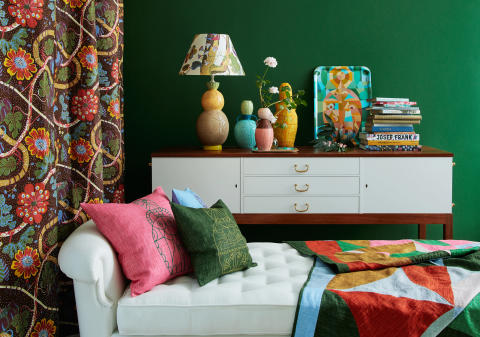 Interior picture of Via Sallustiana by Liselotte Watkins