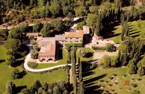 Tenuta Col d´Orcia - egendomen i Motalicino, Toscana