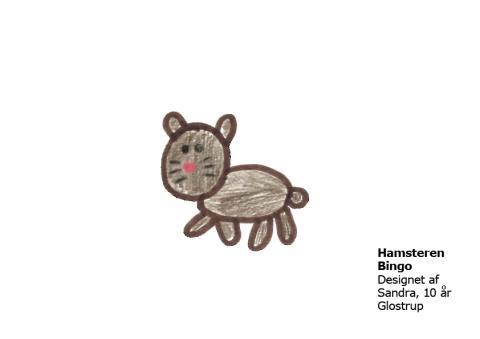 Sandra 10 år Hamsteren Bingo