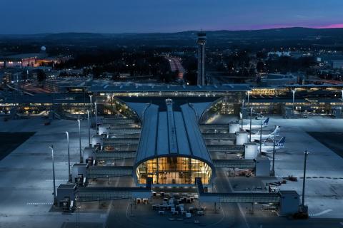 Воздушные ворота в страну фьордов