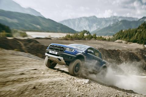 Ford Ranger Raptor debütiert in Europa – Präsentation des ultimativen Performance-Pick-ups auf der Gamescom
