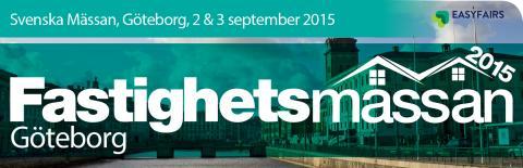 Besök oss på Fastighetsmässan i Göteborg 2-3 sep