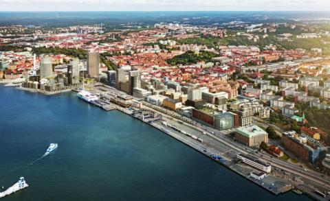 Riksbyggen bygger nya bostäder vid Masthuggskajen