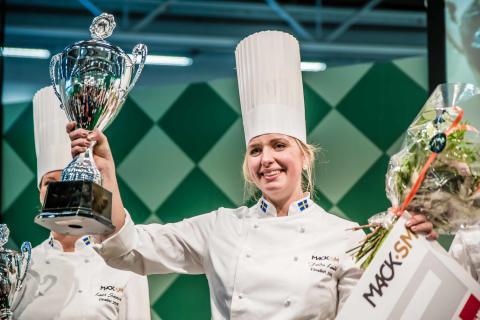 Frida Lundh från Sölvesborg är vinnare i Mack-SM 2016!