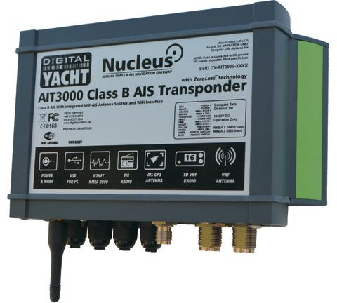 Digital Yacht AIT3000 Class B AIS Transponder Launches In Europe