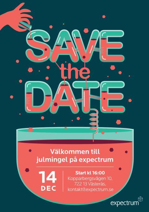 Save the date: julmingel på expectrum 14 december