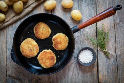 Månadens recept april - Potatisbullar