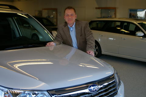 Thomas Possling, informationschef Subaru Nordic AB