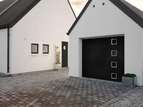 Montera garageport skånska byggvaror