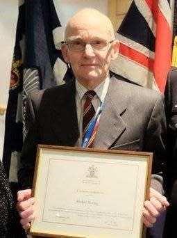 Michael Herring - awarded an MBE