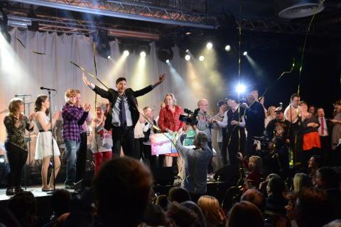 Martin Nilsson vinnare av Väsby Melodifestival 2013