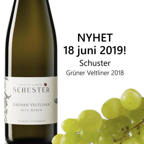 Nyhet från Weingut Schuster på Systembolaget 18 juni 2019!