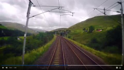 Virgin Trains accelerates journeys with eight-minute London-Scotland film