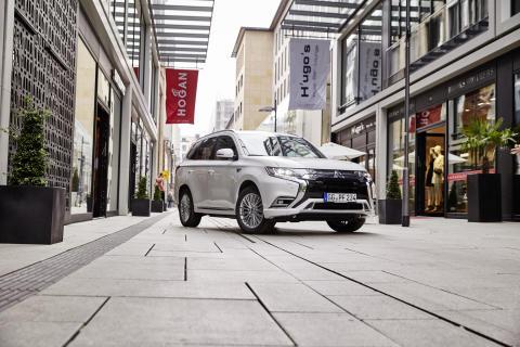 Mitsubishi Outlander Plug-in Hybrid: Marktführer seiner Antriebsklasse in Deutschland