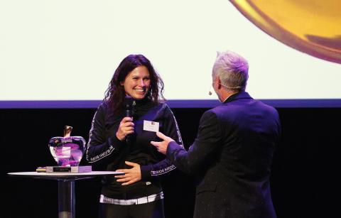 Healthy Business Awards 2016 Lena Nordin Björn Borg Ola Ahlvarsson