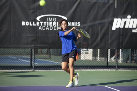 Tennis-Stipendium für 12-18-Jährige in den Sommerferien 2015 – TravelWorks fördert junge Talente an der IMG Academy