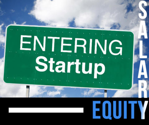 Competitive salary or higher equities if you were to join startup?