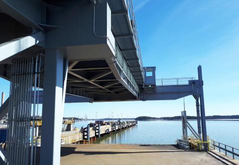 Naantalin Sataman liikennejärjestelyt muuttuvat toukokuussa  - The traffic arrangements will be changed  on May  in the port of Naantali