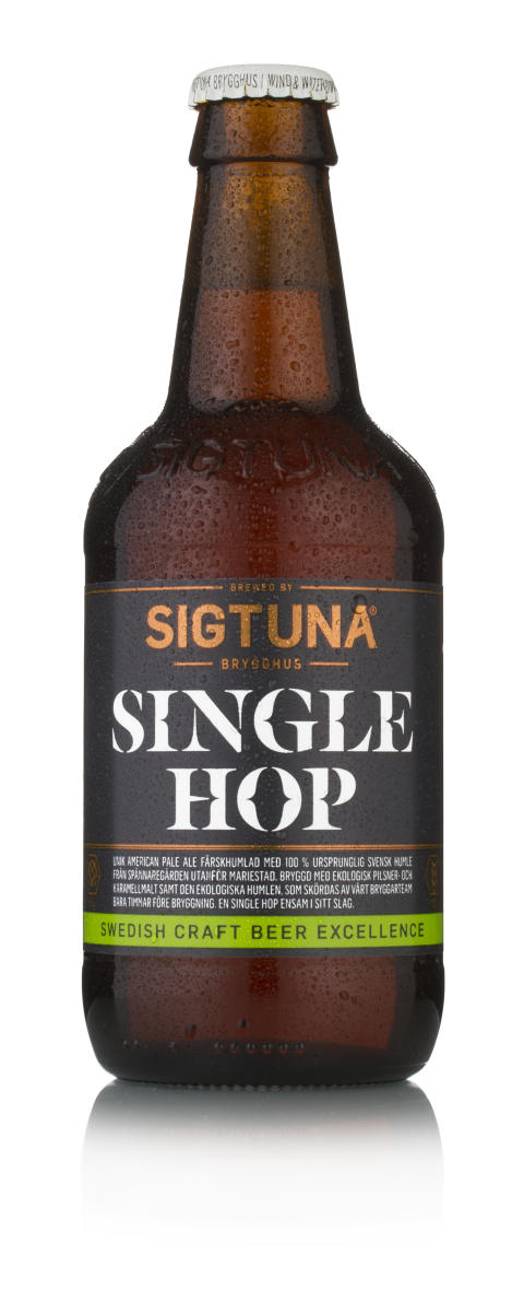 Sigtuna Swedish Single Hop Pale Ale Bild Blöt