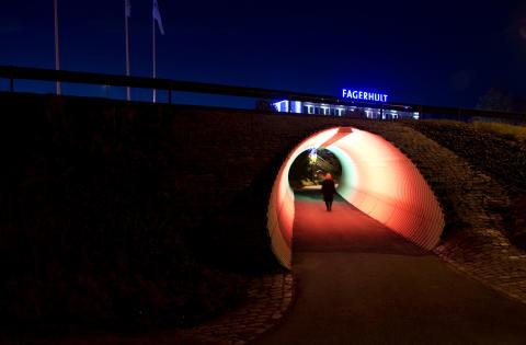 Outdoor Tunnel Lighting