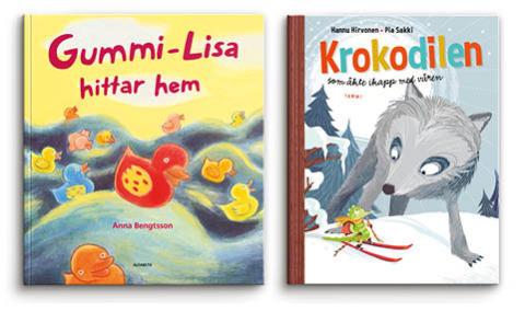 Tredje veckan för BOK HAPPY MEAL med böcker av Anna Bengtsson och Hannu Hirvonen/Pia Sakki