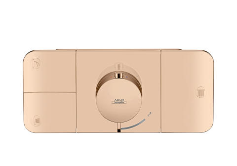 Axor One_Thermostat_Polished_Redgold