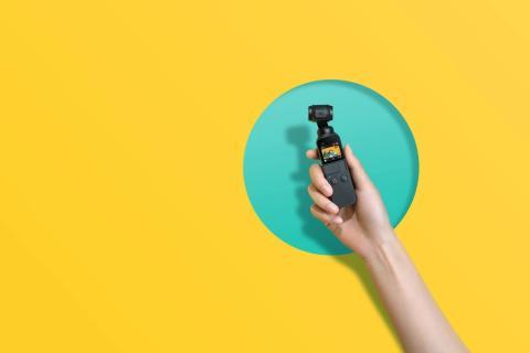 Die DJI Osmo Pocket Handheld-Kamera hält die wichtigsten Momente des Lebens spielend leicht fest