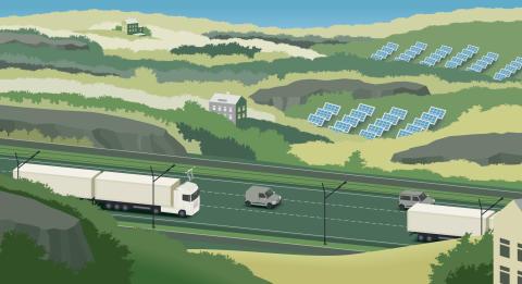 Illustration E-Highway