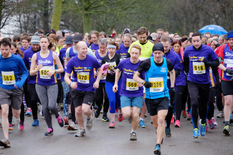 Manchester fundraisers take to Heaton Park for the Stroke Association
