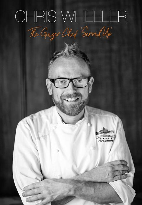 Chris Wheeler launches debut cookbook, The Ginger Chef  'Served Up'