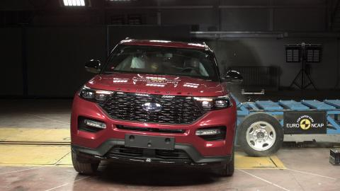 Ford Explorer side impact November 2019