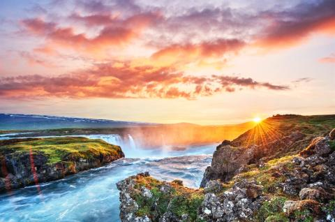 NYHET - Upplev Islands spektakulära natur och historia med vackra landskap, varma källor och lokala smaker