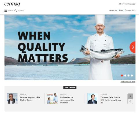 Cermaq Group launches sustainability report and new website