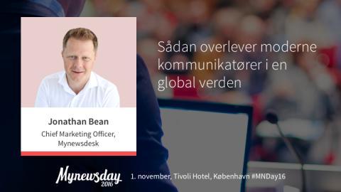 """Taler #3 på Mynewsday: """"Sådan lytter og lærer fremtidens dygtigste kommunikatører"""""""