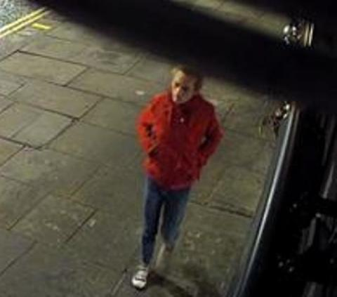 Witness sought by police
