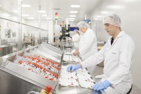 AbbVie Deutschland Produktion in Ludwigshafen