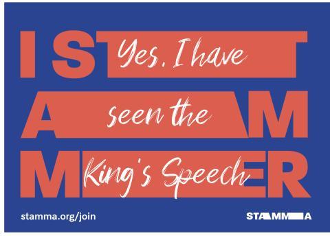 STAMMApostcardKingsSpeech