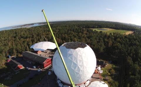 Radioteleskop såg ljuset för första gången